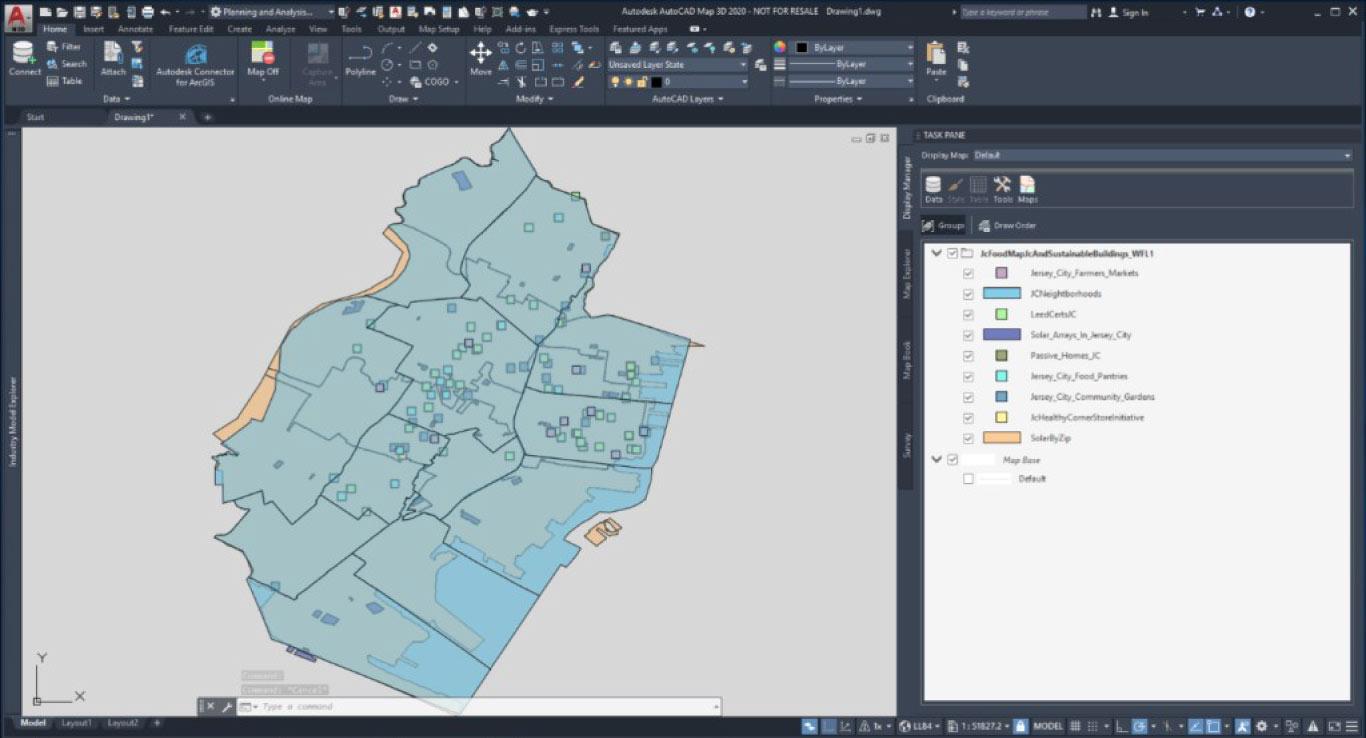map-3d-autocad